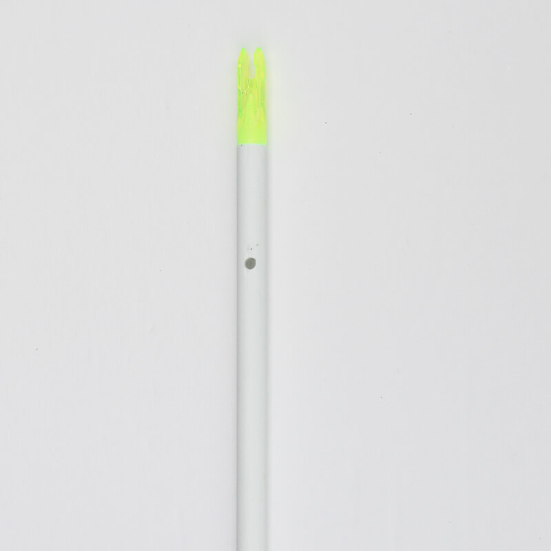 Product: Shaft with Nock, White Shaft