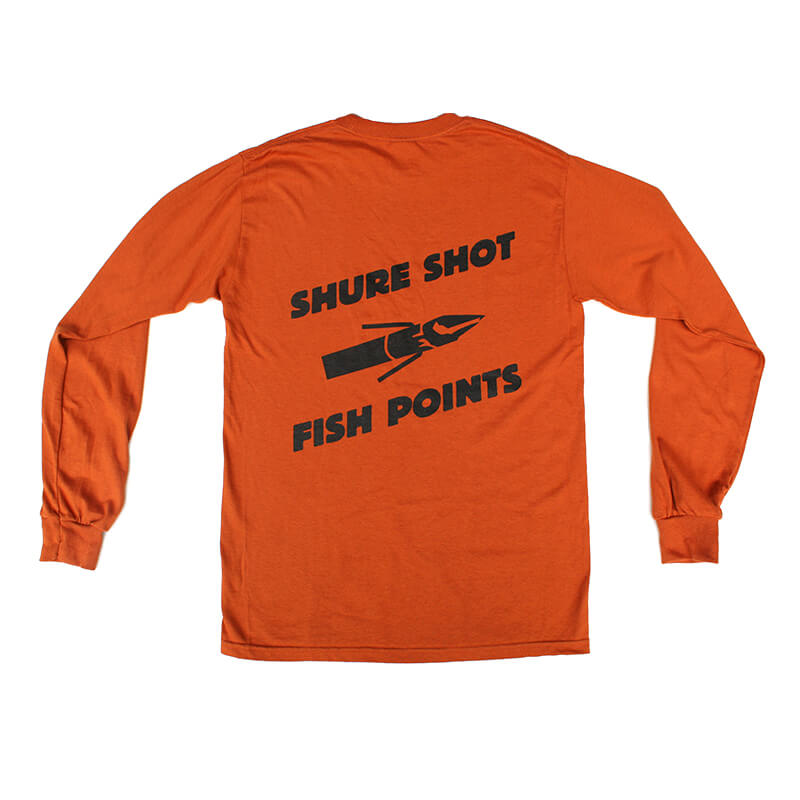 Orange Long Sleeve – Back