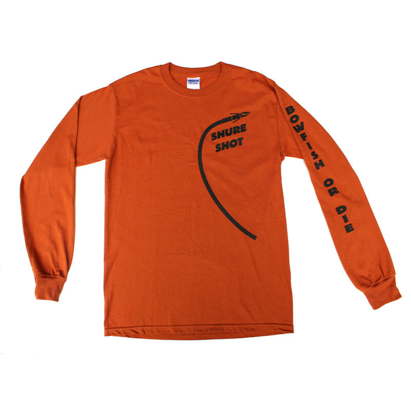 Orange Long Sleeve Front